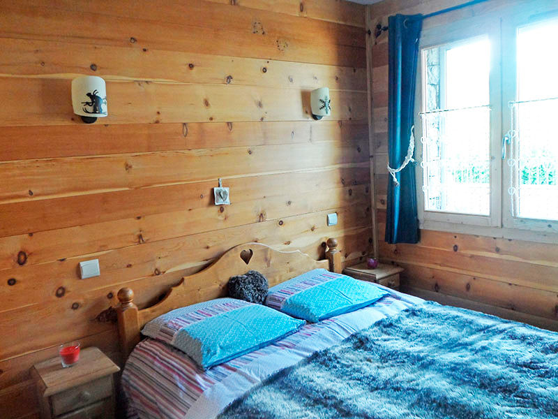 Location chalet Val cenis Lanslebourg LHerbefin Chambre Double